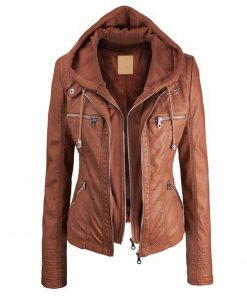 faux-leather-jacket-with-hood