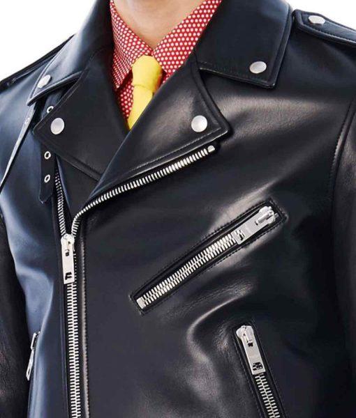 jared-leto-blue-leather-jacket