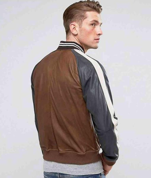 truly-bomber-leather-striped-jacket