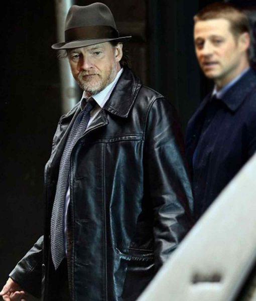 donal-logue-gotham-harvey-bullock-leather-jacket