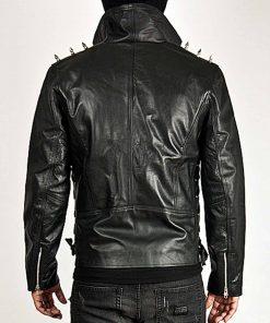 spiked-black-leather-jacket