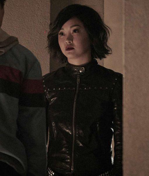 lana-condor-deadly-class-saya-kuroki-leather-jacket