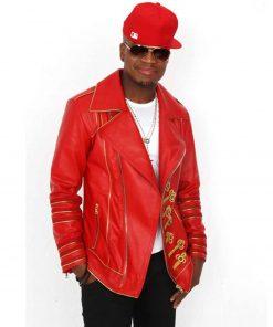 ne-yo-red-leather-jacket