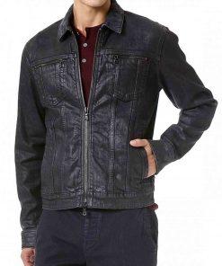 undateable-danny-leather-jacket