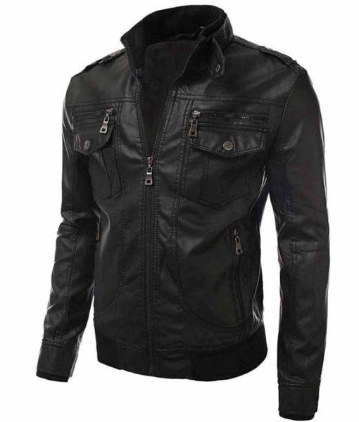 black-leather-slim-fit-jacket