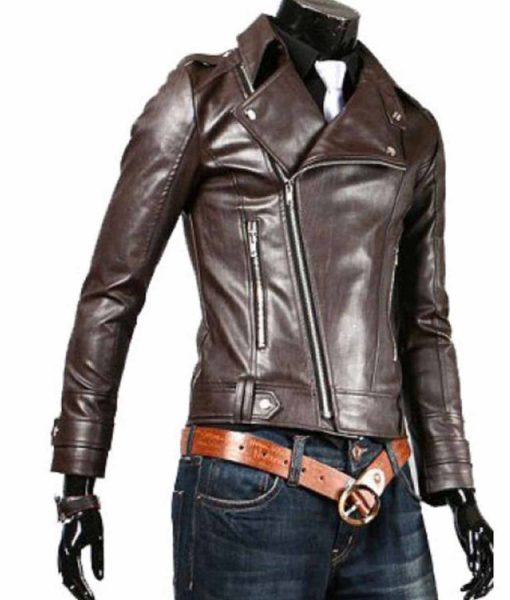 brown-faux-leather-jacket