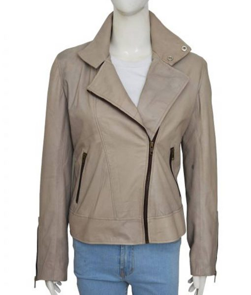 chloe-decker-grey-leather-jacket