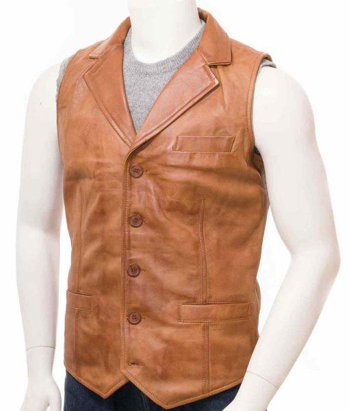 leather-vest