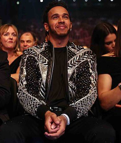 lewis-hamilton-jacket-with-sparkling-silver-striped