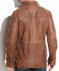 mens-biker-vintage-brown-leather-jacket