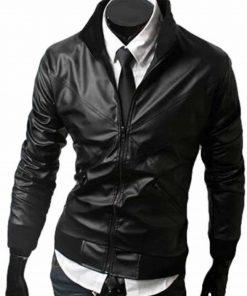 mens-slim-fit-bomber-leather-jacket