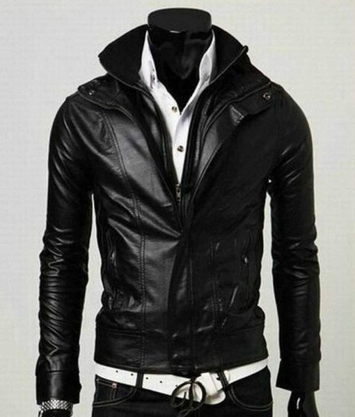 mens-slim-fit-faux-leather-jacket