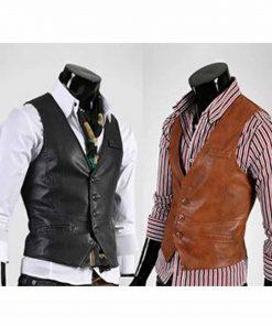 mens-slim-fit-leather-vest