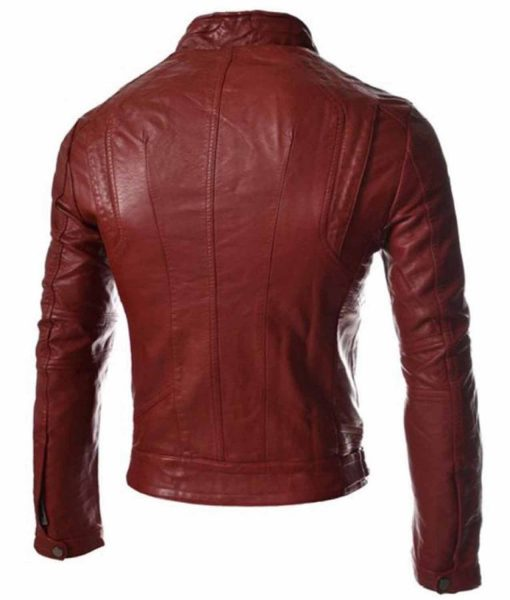 mens-slim-fit-red-faux-leather-jacket