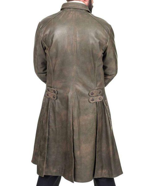 sam-heughan-leather-coat
