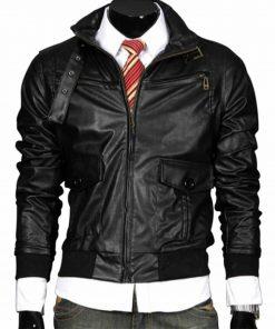 slim-fit-bomber-leather-jacket