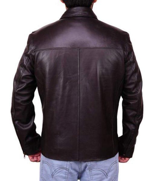 street-wear-barack-obama-brown-leather-jacket