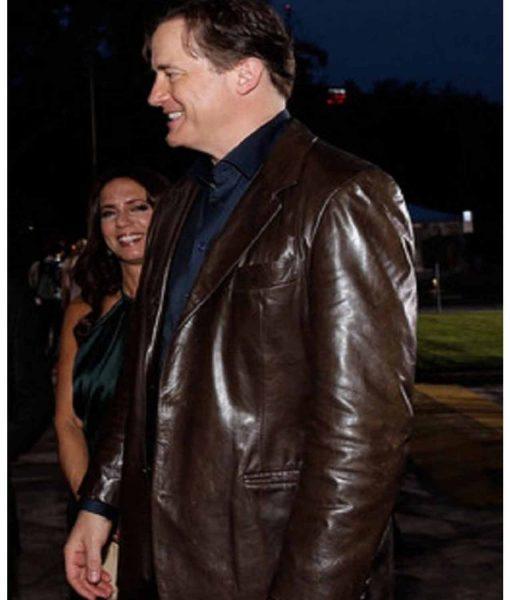 texas-honors-brendan-fraser-leather-blazer