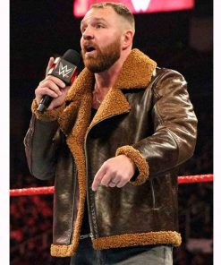 wwe-dean-ambrose-shearling-leather-jacket