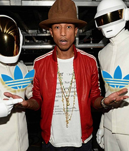 bomber-pharrell-williams-red-leather-jacket