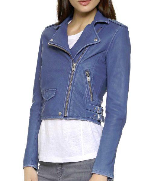 jenna-elfman-imaginary-blue-leather-jacket