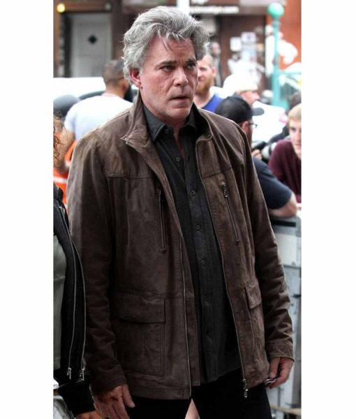 shades-of-blue-matt-wozniak-brown-leather-jacket