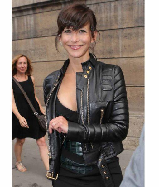 sophie-marceau-leather-jacket