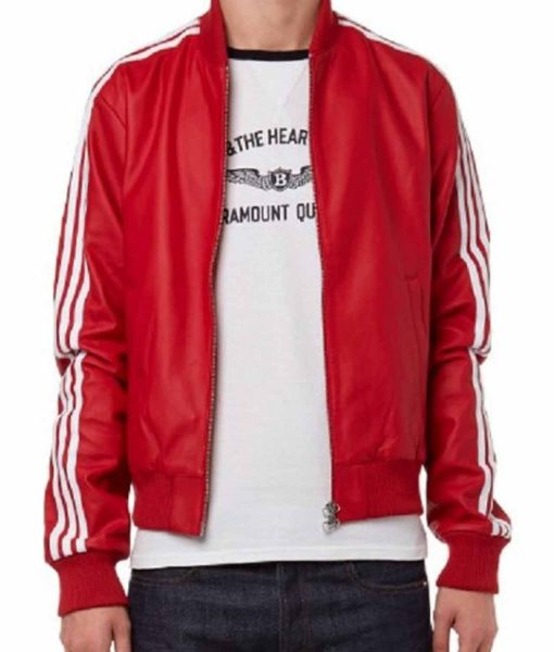 striped-bomber-pharrell-williams-red-leather-jacket