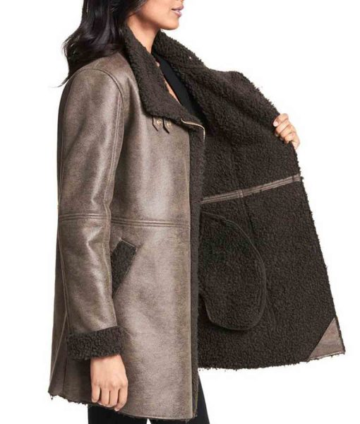 womens-asymmetrical-grey-leather-shearling-coat