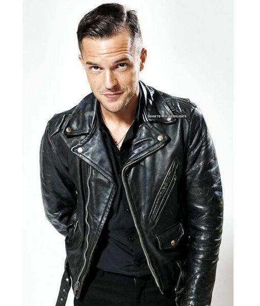 brandon-flowers-leather-jacket