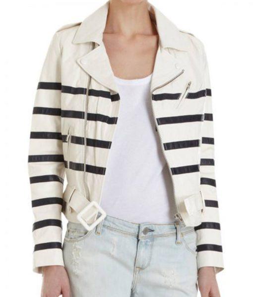 global-citizen-katie-holmes-leather-jacket