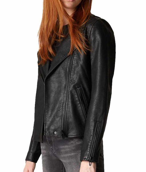the-flash-season-5-nora-west-allen-black-leather-jacket