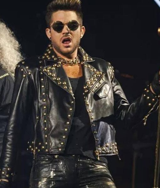 adam-lambert-black-leather-jacket