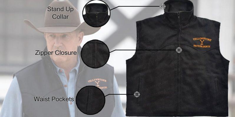 john-dutton-black-vest