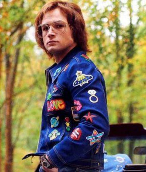 rocketman-taron-egerton-denim-jacket