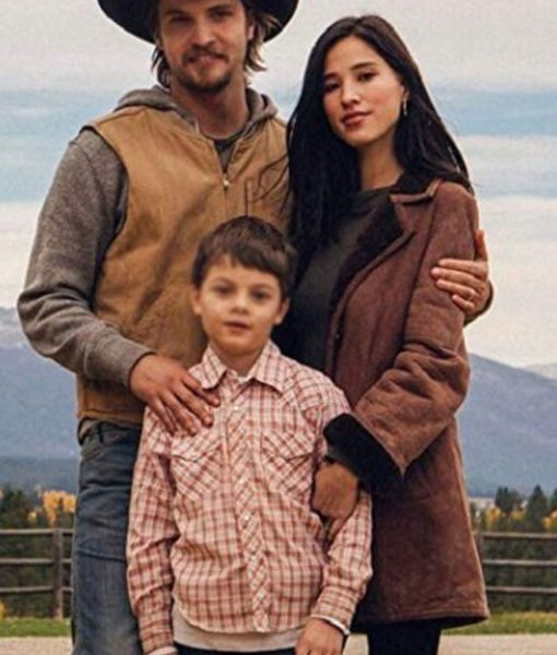 yellowstone-kelsey-asbille-shearling-coat