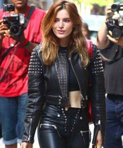 bella-thorne-leather-jacket