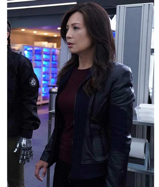 melinda-may-leather-jacket