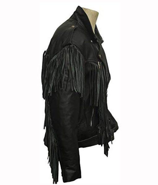 money-heist-nairobi-fringe-leather-jacket
