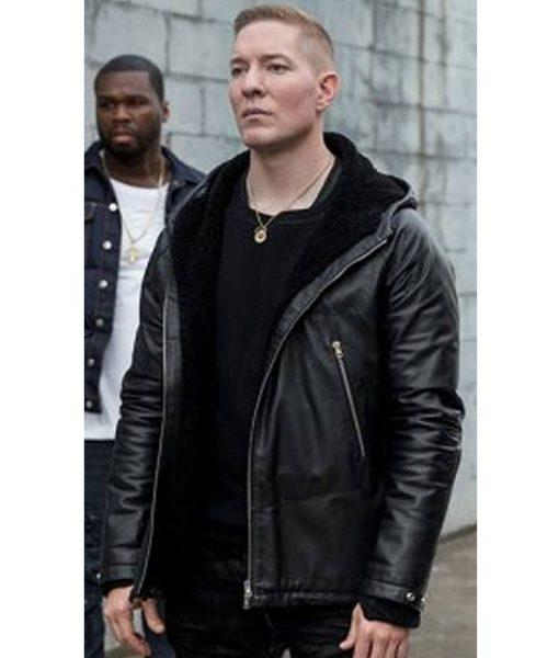power-joseph-sikora-leather-hoodie