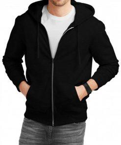 black-zip-up-hoodie