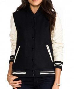 cream-and-black-varsity-jacket