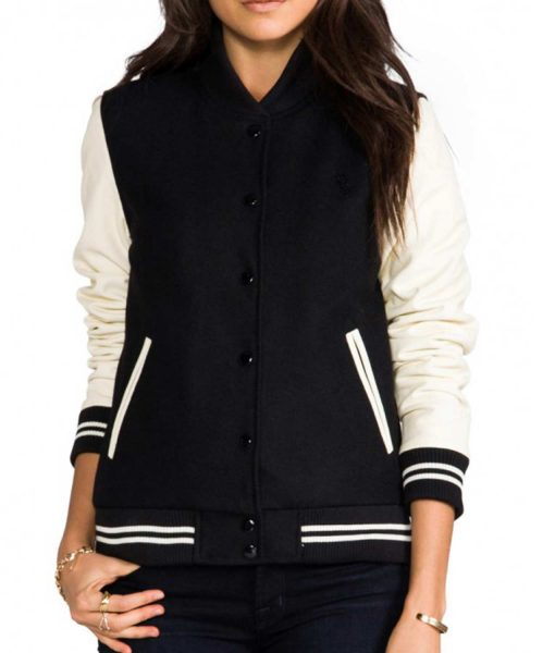 cream-and-black-varsity-jacket