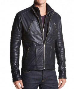high-neck-collar-black-leather-jacket