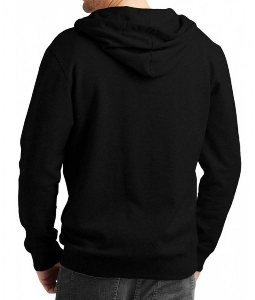 mens-casual-black-zip-up-hoodie