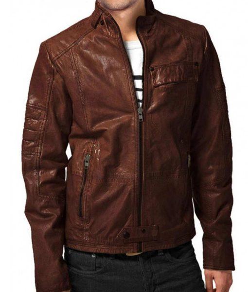 mens-designer-brown-leather-jacket