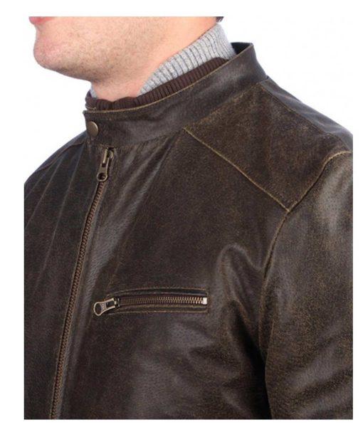 vintage-brown-leather-bomber-jacket
