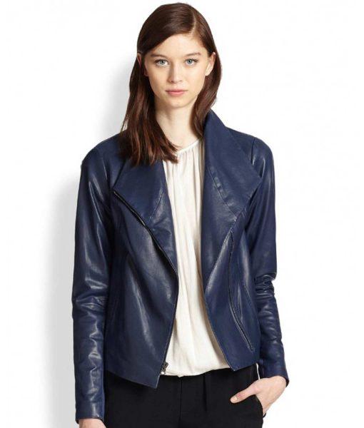 womens-scuba-asymmetrical-blue-leather-jacket