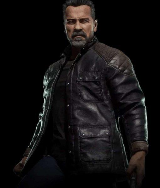 mortal-kombat-11-terminator-black-leather-jacket