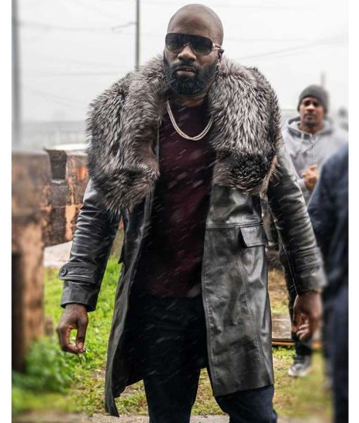 mike-colter-black-and-blue-darius-leather-coat